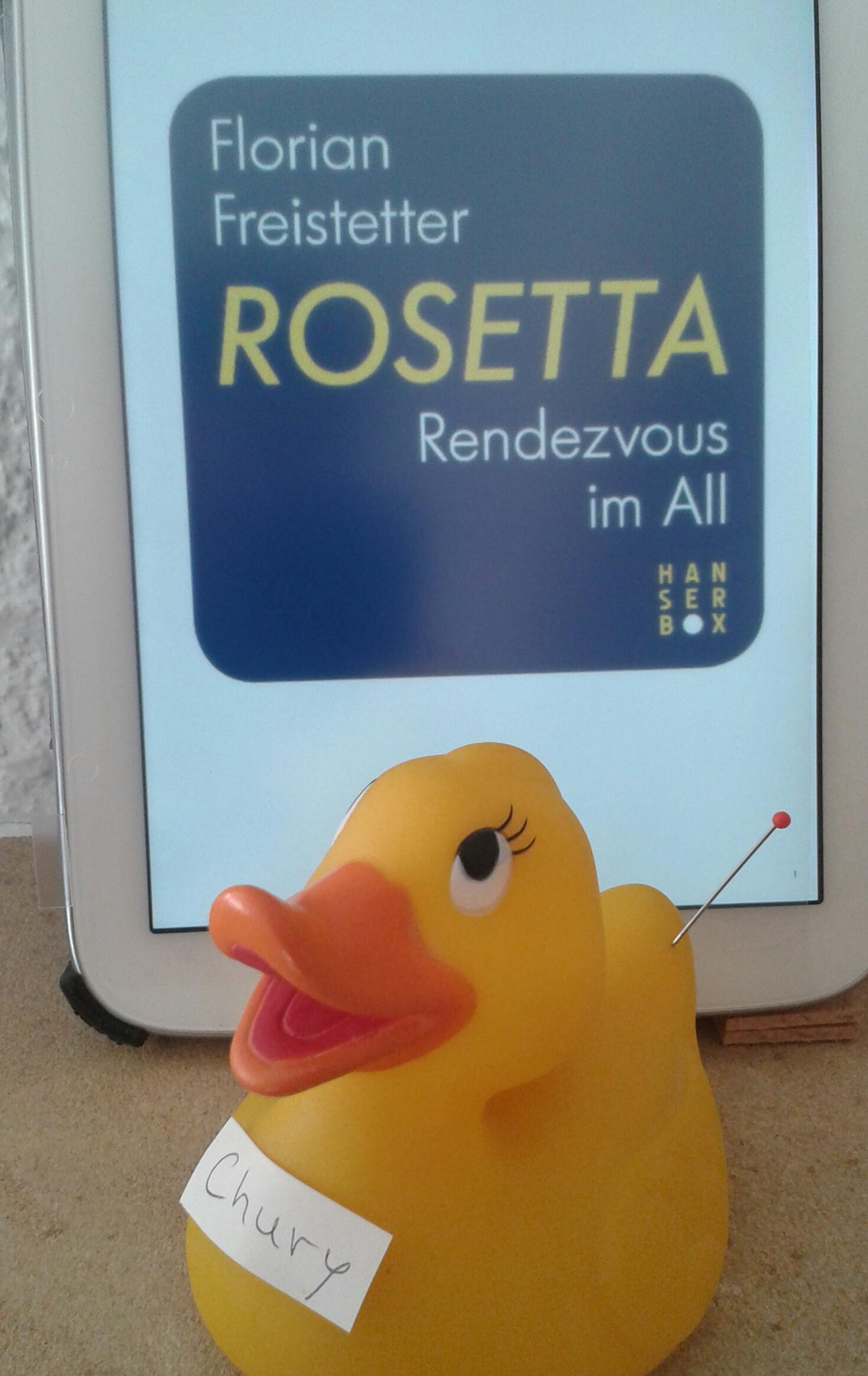 Freistetter Rosetta Rendezvous
