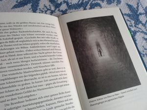 Schneetunnel, Abbildung aus dem Archiv des Autors